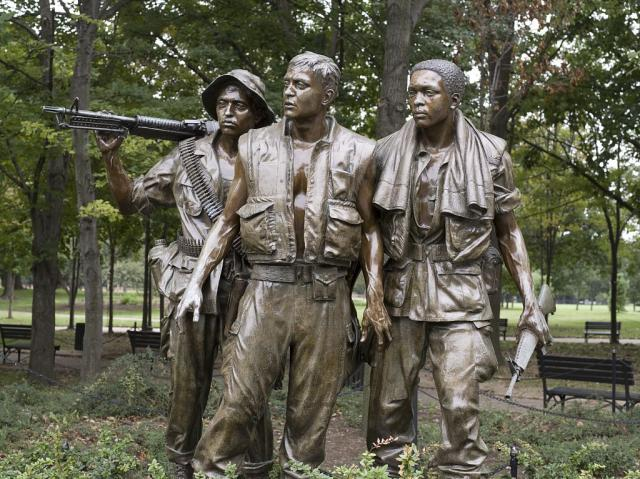 Soldiers of the Vietnam Memorial - Washington DC